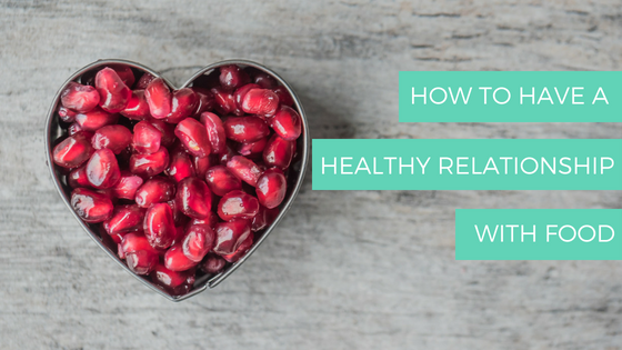 DO YOU HAVE A POOR RELATIONSHIP WITH FOODS?