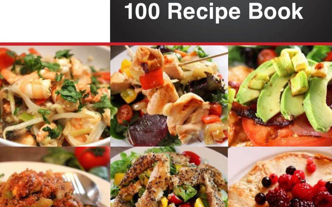 BBF Fit & Healthy 100 Recipe Book
